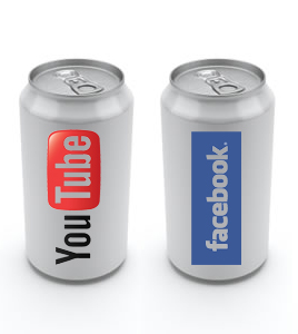 YouTube-Facebook cans