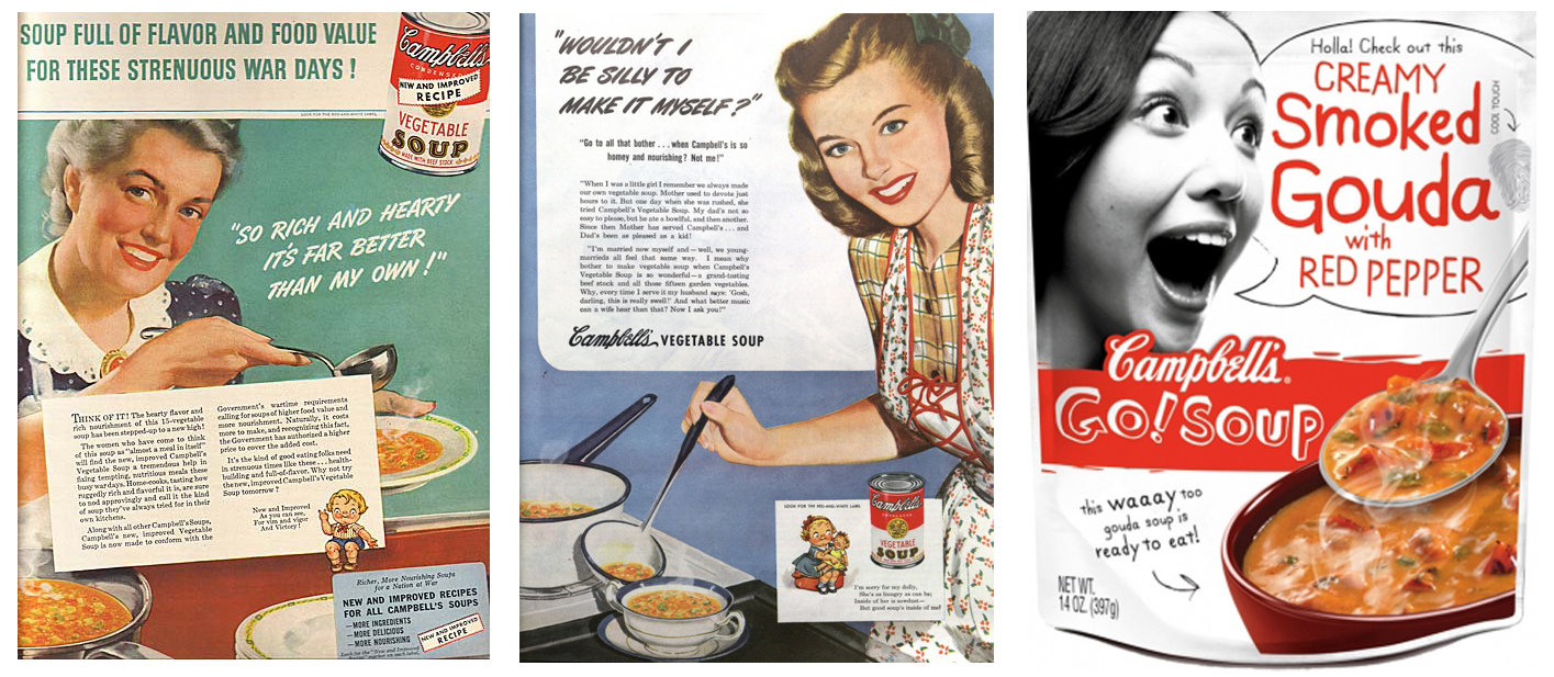 Campbells Go A package or a print ad and does it matter